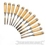 Carving Chisels 12pce Set